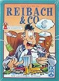 Brettspiele bei AEIOU.DE - Abbildung: Frontcover der Spielbox von Reibach & Co