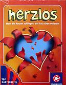 Brettspiele bei AEIOU.DE - Abbildung: Frontcover der Spielbox von herzlos