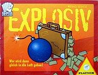 Brettspiele bei AEIOU.DE - Abbildung: Frontcover der Spielbox von Explosiv