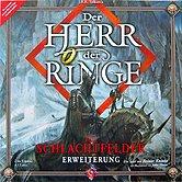 Brettspiele bei AEIOU.DE - Abbildung: Frontcover der Spielbox von Herr der Ringe - Die Schlachtfelder