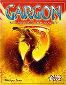 Brettspiele bei AEIOU.DE - Abbildung: Frontcover der Spielbox von Gargon