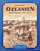 Brettspiele bei AEIOU.DE - Abbildung: Frontcover der Spielbox von Ozeanien