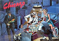 Brettspiele bei AEIOU.DE - Abbildung: Frontcover der Spielbox von Chicago