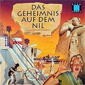 Brettspiele bei AEIOU.DE - Abbildung: Frontcover der Spielbox von Das Geheimnis auf dem Nil