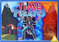 Brettspiele bei AEIOU.DE - Abbildung: Frontcover der Spielbox von Time Pirates
