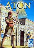 Brettspiele bei AEIOU.DE - Abbildung: Frontcover der Spielbox von Aton