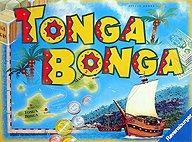 Brettspiele bei AEIOU.DE - Abbildung: Frontcover der Spielbox von Tonga Bonga