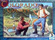 Brettspiele bei AEIOU.DE - Abbildung: Frontcover der Spielbox von Colorado County