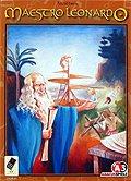 Brettspiele bei AEIOU.DE - Abbildung: Frontcover der Spielbox von Maestro Leonardo