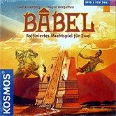 Rezensionen bei AEIOU.DE - Abbildung: Frontcover der Spielbox von Babel