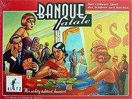 Brettspiele bei AEIOU.DE - Abbildung: Frontcover der Spielbox von Banque Fatale
