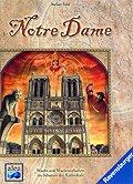 Brettspiele bei AEIOU.DE - Abbildung: Frontcover der Spielbox von Notre Dame