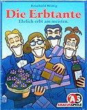 Brettspiele bei AEIOU.DE - Abbildung: Frontcover der Spielbox von Die Erbtante