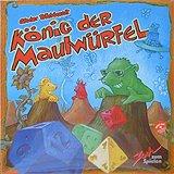 Brettspiele bei AEIOU.DE - Abbildung: Frontcover der Spielbox von König der Maulwürfel