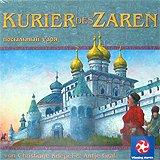 Brettspiele bei AEIOU.DE - Abbildung: Frontcover der Spielbox von Kurier des Zaren