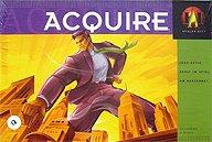Brettspiele bei AEIOU.DE - Abbildung: Frontcover der Spielbox von Acquire