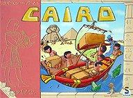 Brettspiele bei AEIOU.DE - Abbildung: Frontcover der Spielbox von Cairo
