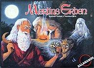 Brettspiele bei AEIOU.DE - Abbildung: Frontcover der Spielbox von Merlins Erben
