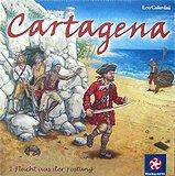Rezensionen bei AEIOU.DE - Abbildung: Frontcover der Spielbox von Cartagena 1