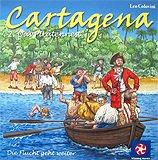 Rezensionen bei AEIOU.DE - Abbildung: Frontcover der Spielbox von Cartagena 2