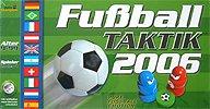 Brettspiele bei AEIOU.DE - Abbildung: Frontcover der Spielbox von Fußball Taktik 2006