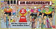 Brettspiele bei AEIOU.DE - Abbildung: Frontcover der Spielbox von Um Reifenbreite