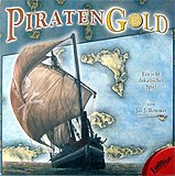 Brettspiele bei AEIOU.DE - Abbildung: Frontcover der Spielbox von Piratengold