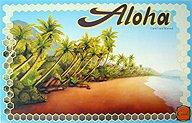 Brettspiele bei AEIOU.DE - Abbildung: Frontcover der Spielbox von Aloha