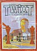 Brettspiele bei AEIOU.DE - Abbildung: Frontcover der Spielbox von Twixt