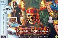 Brettspiele bei AEIOU.DE - Abbildung: Frontcover der Spielbox von Fluch der Karibik 2
