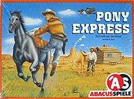 Brettspiele bei AEIOU.DE - Abbildung: Frontcover der Spielbox von Pony Express