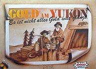 Brettspiele bei AEIOU.DE - Abbildung: Frontcover der Spielbox von Gold am Yukon