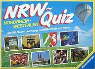 Brettspiele bei AEIOU.DE - Abbildung: Frontcover der Spielbox von NRW-Quiz