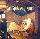 Brettspiele bei AEIOU.DE - Abbildung: Frontcover der Spielbox von Das Spitzweg-Spiel