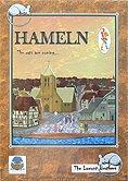 Brettspiele bei AEIOU.DE - Abbildung: Frontcover der Spielbox von Hameln