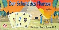 Brettspiele bei AEIOU.DE - Abbildung: Frontcover der Spielbox von Der Schatz des Pharaos