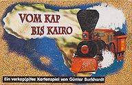 Brettspiele bei AEIOU.DE - Abbildung: Frontcover der Spielbox von Vom Kap bis Kairo