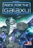 Brettspiele bei AEIOU.DE - Abbildung: Frontcover der Spielbox von Race for the Galaxy