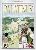Brettspiele bei AEIOU.DE - Abbildung: Frontcover der Spielbox von Palatinus