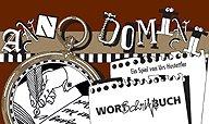Brettspiele bei AEIOU.DE - Abbildung: Frontcover der Spielbox von Anno Domini - Wort Schrift Buch