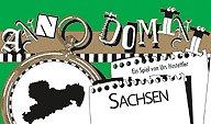 Brettspiele bei AEIOU.DE - Abbildung: Frontcover der Spielbox von Anno Domini - Sachsen