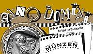 Brettspiele bei AEIOU.DE - Abbildung: Frontcover der Spielbox von Anno Domini - Münzen
