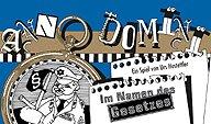 Brettspiele bei AEIOU.DE - Abbildung: Frontcover der Spielbox von Anno Domini - Im Namen des Gesetzes