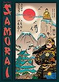 Brettspiele bei AEIOU.DE - Abbildung: Frontcover der Spielbox von Samurai