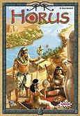 Brettspiele bei AEIOU.DE - Abbildung: Frontcover der Spielbox von Horus