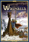 Brettspiele bei AEIOU.DE - Abbildung: Frontcover der Spielbox von Walhalla
