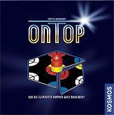 Brettspiele bei AEIOU.DE - Abbildung: Frontcover der Spielbox von On Top