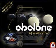 Brettspiele bei AEIOU.DE - Abbildung: Frontcover der Spielbox von Abalone quattro