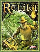 Brettspiele bei AEIOU.DE - Abbildung: Frontcover der Spielbox von Relikt