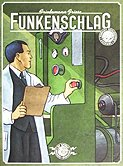 Brettspiele bei AEIOU.DE - Abbildung: Frontcover der Spielbox von Funkenschlag